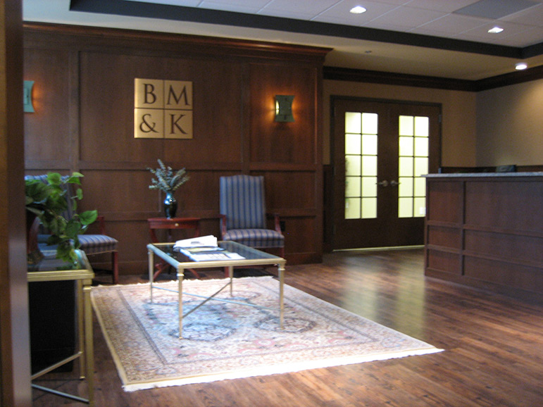 Law Office Reception Area