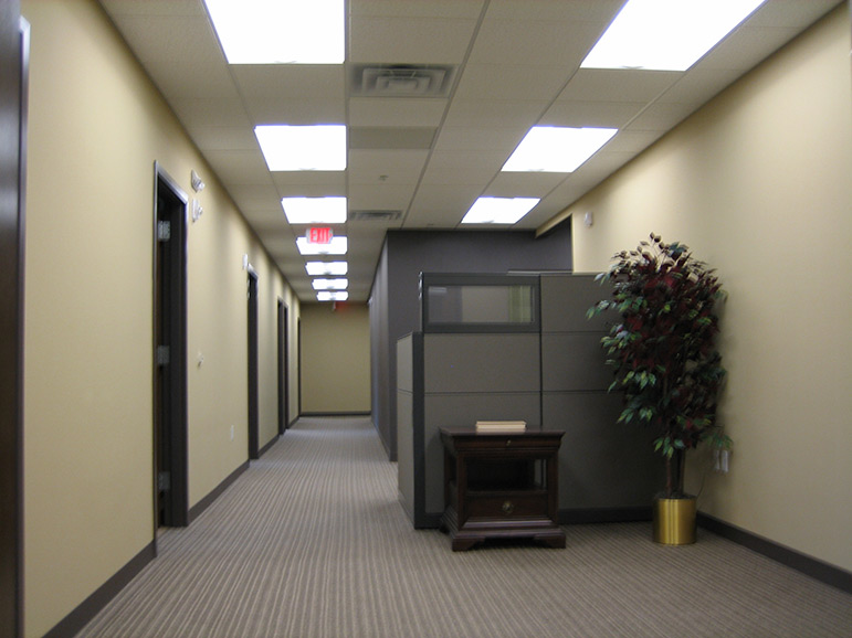 Law Office Hallway